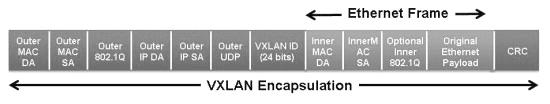 VXLAN frame